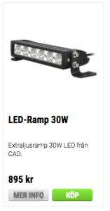 LED rampen 30W